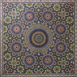 Moroccan mosaic. A colorful moroccan hand made mosaic wall Stock Photo