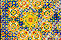 Moroccan mosaic Royalty Free Stock Images