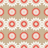 Moroccan Mosaic Seamless Patterns. Retro motif. Textile rapport Stock Photo
