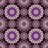 Moroccan Mosaic Seamless Patterns. Retro motif. Royalty Free Stock Images