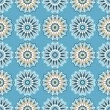 Moroccan Mosaic Seamless Patterns. Retro motif. Stock Photos