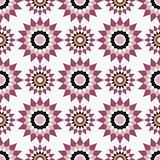 Moroccan Mosaic Seamless Patterns. Retro motif. Textile rapport Royalty Free Stock Photography