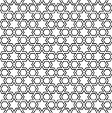 Moroccan mosaic seamless Stock Image