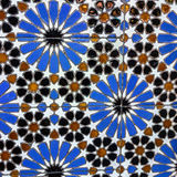 Moroccan mosaic tile, ceramic decoration of mosque, Tanger, Moro Stock Image