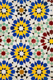 Moroccan mosaic tiles Royalty Free Stock Image