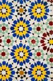 Moroccan mosaic tiles Royalty Free Stock Image