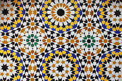 Moroccan mosaic Royalty Free Stock Photo
