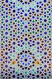 moroccan mosaik royaltyfri bild