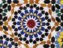 moroccan mosaik fotografering för bildbyråer