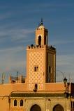 moroccan moské Arkivfoto