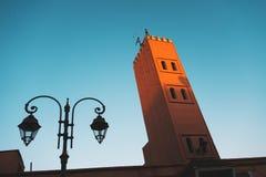 moroccan moské Arkivbilder