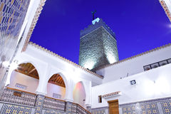 Moroccan Mosque in Chefchaouen Stock Photos