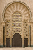 Moroccan mosque door Stock Photography