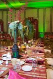 moroccan mottagandebröllop Royaltyfri Fotografi