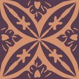The Moroccan mural decorative design art symbol stock illustration
