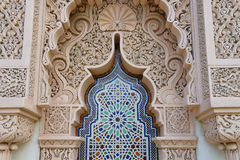 Moroccan. Nice Moroccan architecture traditional design royalty free stock image