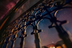 Moroccan nightsky 2 stock photos
