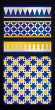 Moroccan ornament Royalty Free Stock Image