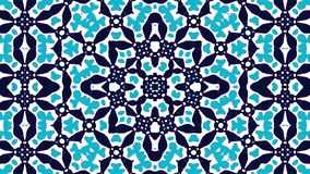 Moroccan ornament. Dark blue and blue elements. royalty free illustration
