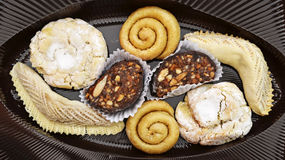 Moroccan pastries Stock Photos