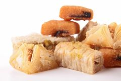 Moroccan pastry Stock Images