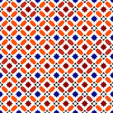 Moroccan Pattern. Mosaic Tiles. Islamic Ornaments. Seamless Vector Background royalty free illustration