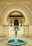 Moroccan Pavilion stock photo