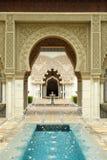 moroccan paviljong Arkivbilder
