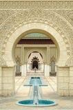 moroccan paviljong Arkivfoto