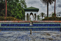 Moroccan pavillion Stock Photo