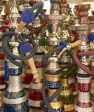 Moroccan pipes Royalty Free Stock Images