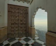 Moroccan Porch Royalty Free Stock Photo