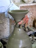 Moroccan potter Royalty Free Stock Photography