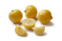 Moroccan preserved lemons Royalty Free Stock Images