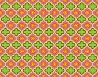 Moroccan Quatrefoil Seamless Pattern Mosaic Ogee Vector royalty free stock photo
