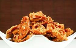 Moroccan Ramadan cookies Stock Photo