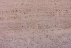 Moroccan Red Adobe Mud Wall as Background Royalty Free Stock Photography