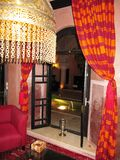 Moroccan Riad Royalty Free Stock Image