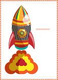 Moroccan rocket A Royalty Free Stock Image