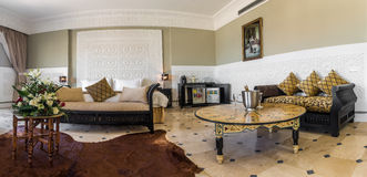 Moroccan room suite Royalty Free Stock Image