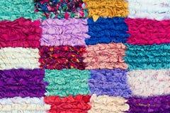 Moroccan Rug. Colorful Moroccan Rug Close-up stock photos