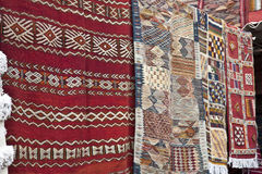 Moroccan Rugs Royalty Free Stock Images