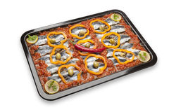 Moroccan sardine dish receipe Royalty Free Stock Photos
