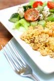 Moroccan savoury couscous Stock Photos