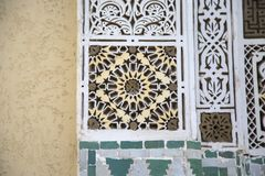 Moroccan shape Royalty Free Stock Photography