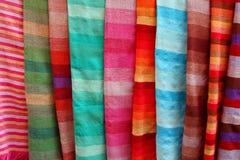 Moroccan shawls Royalty Free Stock Image