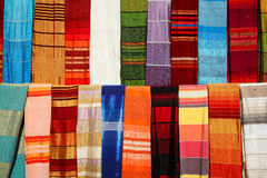 Moroccan shawls Royalty Free Stock Image