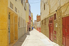 Moroccan Side Street Stock Photos