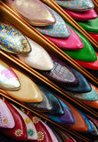 Moroccan slippers Stock Photography