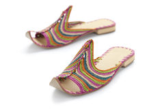 Moroccan slippers Royalty Free Stock Images